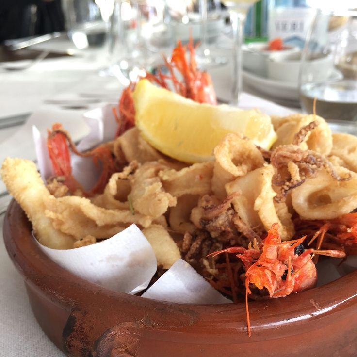 Mixed stir fryed seafood / Frittura Mista  #seaFood #fritturaMista #Ibiza