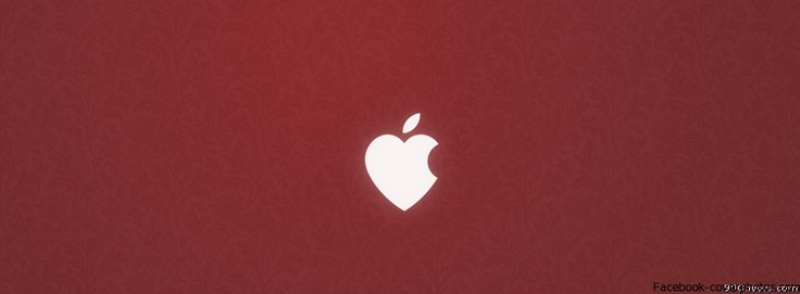 Apple Love Facebook Cover Photo | Facebook Cover Photo Maker