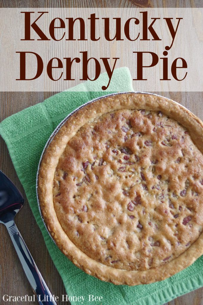 See how to make this easy and delicious Kentucky Derby Pie on gracefullittlehoneybee.com