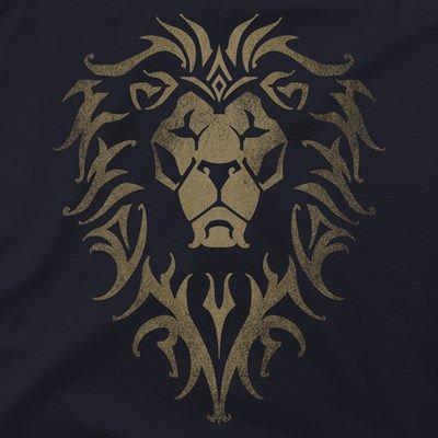 Warcraft Movie Alliance Logo Premium Tee