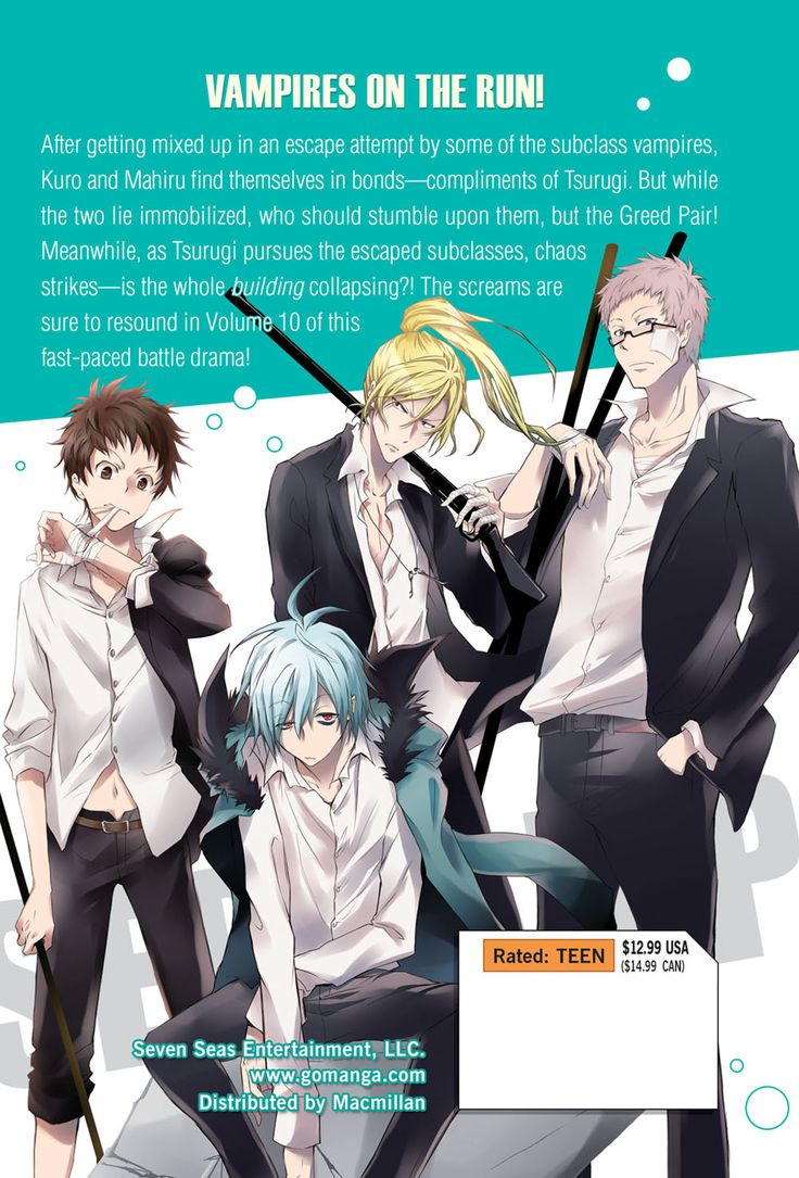 Servamp Manga Volume 10