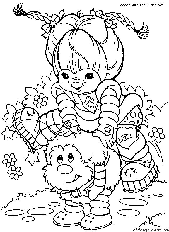 217 best Crafty (80's Rainbow Brite) Coloring images on ...