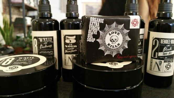 To shave for man @ Mashed concept store Amsterdam and Haarlem.