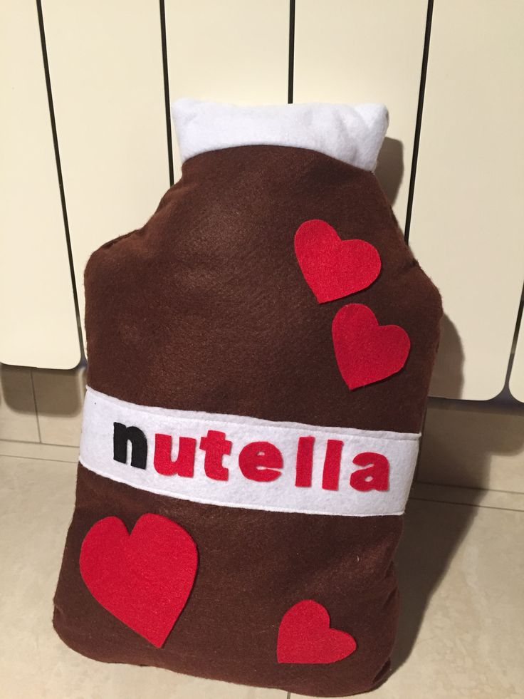 #cuscino #nutella #pannolenci