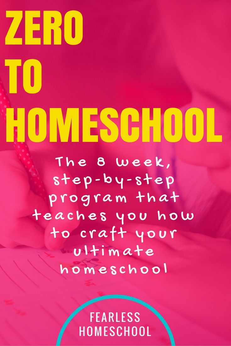 Want to have someone hold your hand and run you through everything you need to know to start homeschooling well? Check out Zero to Homeschool!