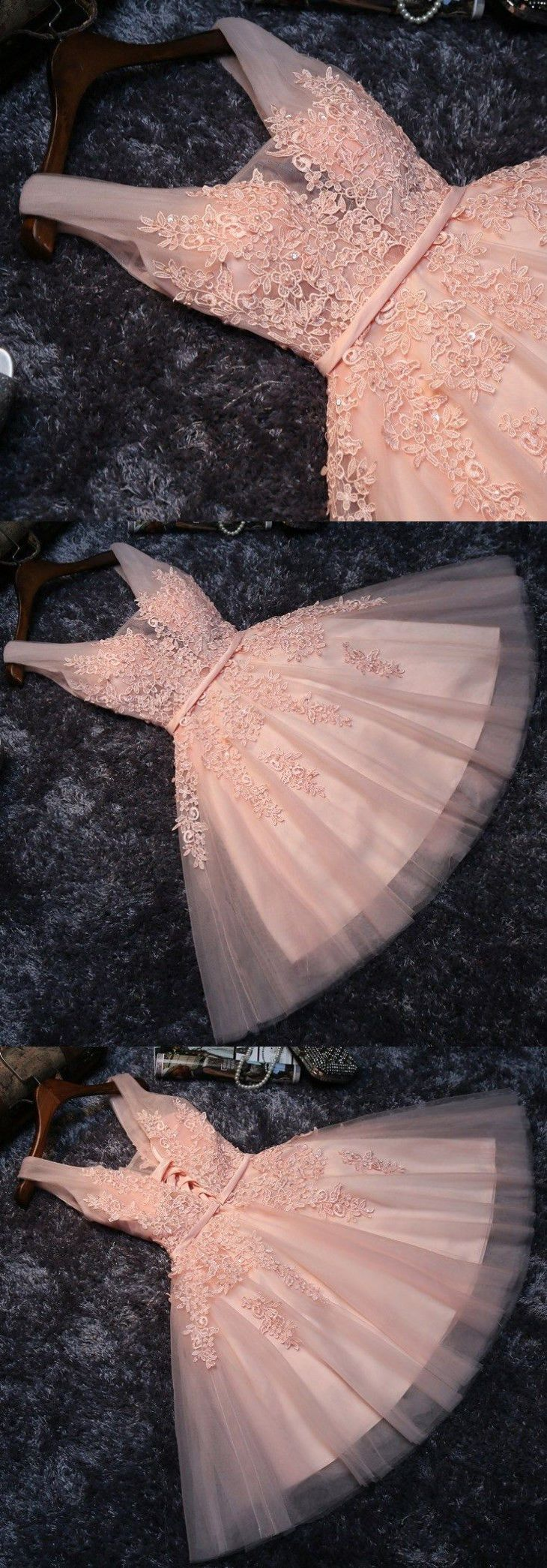 Lace Homecoming Dress,Short Homecoming Dresses,Blush Pink Short Homecoming Dresses, Princess Lace Appliqued Tulle Homecoming Dress,Lace Homecoming Dresses,Short Prom Dress