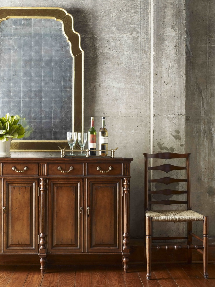 Jonathan Charles Fine Furniture, Country Farmhouse Collection, Dining Room