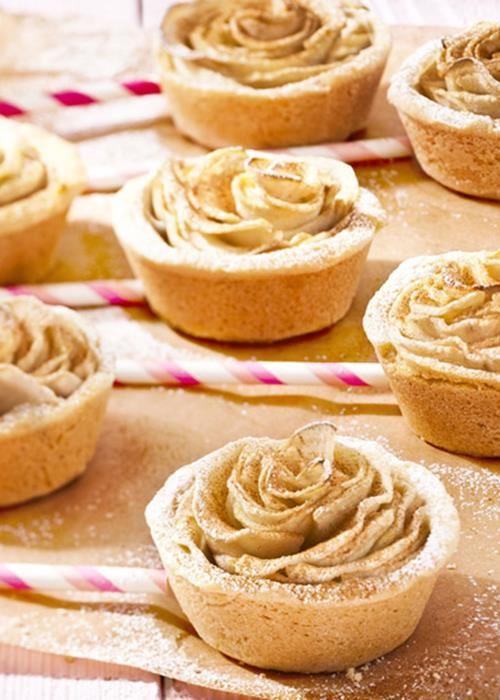 Cupcakes-Rosa de Maçã