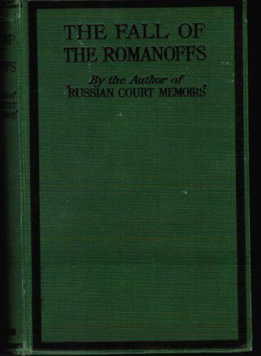 "romanovs fall Nicholas ii, 1894 source d ""i pity the tsar i pity russia he is a poor and unhappy sovereign what did he inherit and what will he leave."