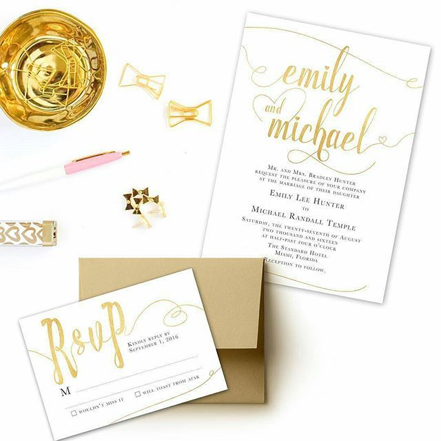 Set the tone for your glamorous wedding day with this Gold wedding invitation set💍by @charmingchestnuts 💫www.charmingchestnuts.etsy.com #weddingwire #sundaymorning #sundaylunch #weekendporn #weddinginspiration #bridebook #goldwedding #stationerydesigner #weddingideas #weddinginvitations #weddingplanning #weddingdetails #engaged #weddingplanner #weddingstationery #smallbiz #mycreativebiz #makersgonnamake #hellosmallshop #creativelifehappylife #handsandustle #tnchustler #creativeentrepeneur…