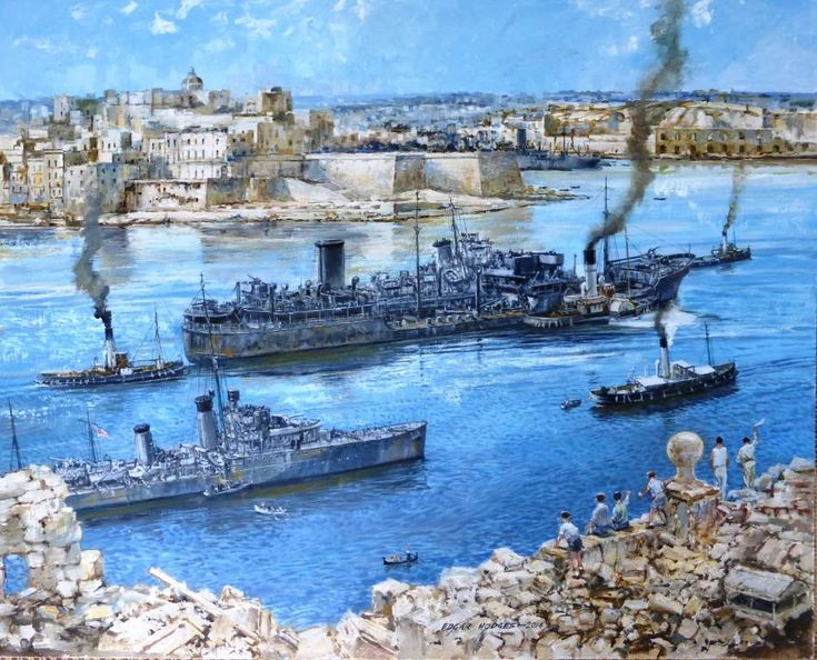 HMS Ledbury (1941), Malta