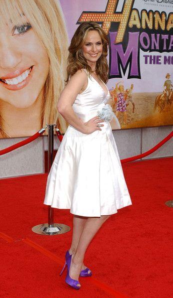 "Melora Hardin Photo - ""Hannah Montana: The Movie"" PURPLE SHOES"