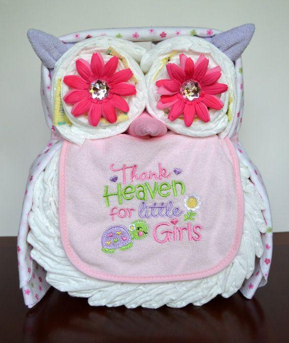 Baby Girl Diaper Cakes Pinterest