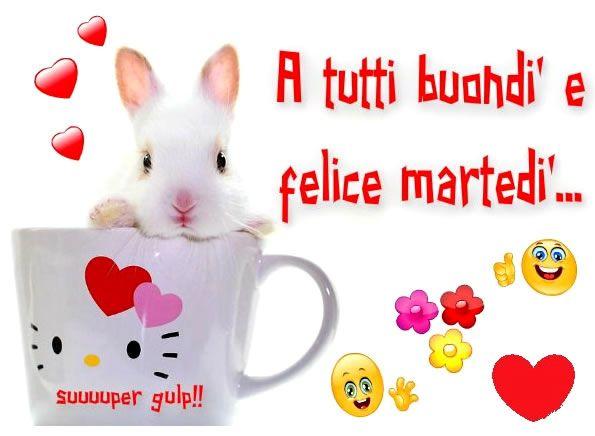 A tutti buondì e felice martedì #martedi