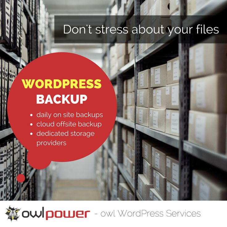 No business should go more than a week without performing a WordPress backup. Find out why >>> http://ow.ly/BLnO3058uPE  #wpbackup
