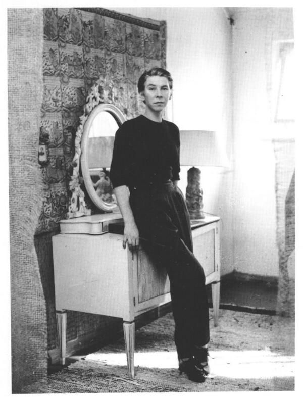 Tove Jansson by Reino Loppinen, 1956