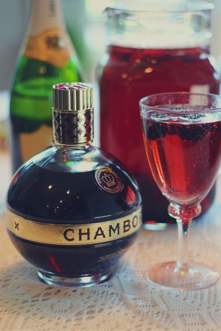 How to Make Punch Royale       Click to clink a sassy pitcher of Chambord Punch Royale for you and your ladies and take your next brunch. Mix together 8 oz CHAMBORD Liqueur, 8 oz Cranberry Juice, 2 bottles KORBEL Brut California Champagne, chilled. Combine all ingredients in a punch bowl or large pitcher. Stir and garnish with fresh raspberries or blackberries, then serve immediately. Makes 8-10 servings. For more cocktail inspiration, spin to the  How-To-Hostesspage. Bravo!