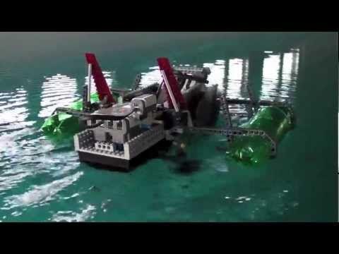 Lego Mindstorms Paddleboat | Make: