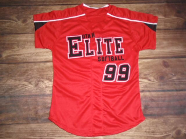 Check out this custom jersey designed by Utah Elite Softball and created at MVP Sports in Spanish Fork, UT! http://www.garbathletics.com/blog/elite-softball-custom-jersey/ Create your own custom uniforms at www.garbathletics.com!