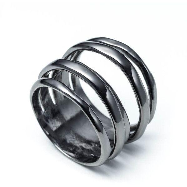 Stackable Hamburger Ring