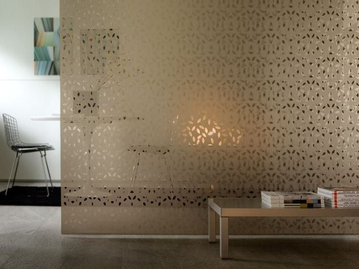 Float Glass Partition Wall Decorflou Design Defne Koz By