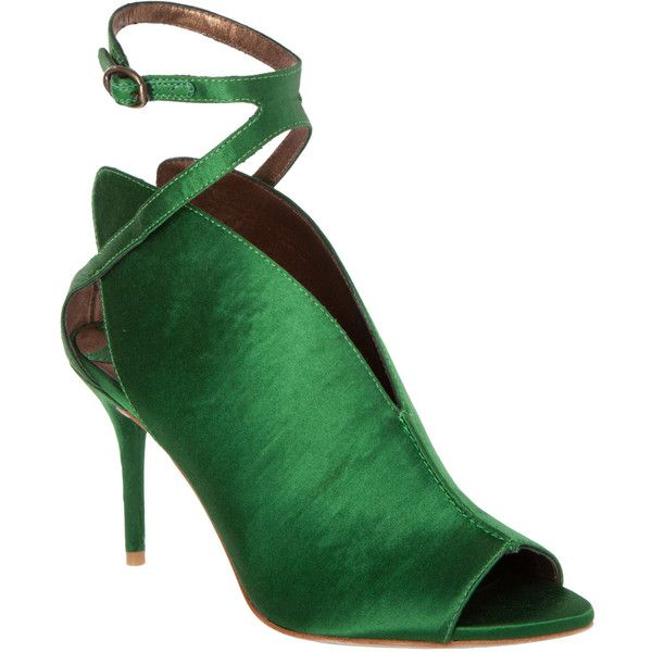Max Studio Wave Satin Cut Out Evening Sandals (5 385 UAH) ❤ liked on Polyvore featuring shoes, sandals, deepemer, special occasion shoes, sexy sandals, evening shoes, satin sandals y peep toe sandals