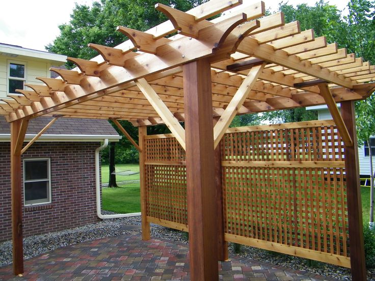 421 best Real Cedar Outdoor Living images on Pinterest Outdoor
