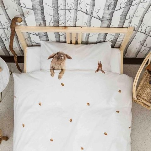 Product Design and Retail eCommerce: America's most creative children's bedding and pillow case furry friends and Star Wars by Snurk