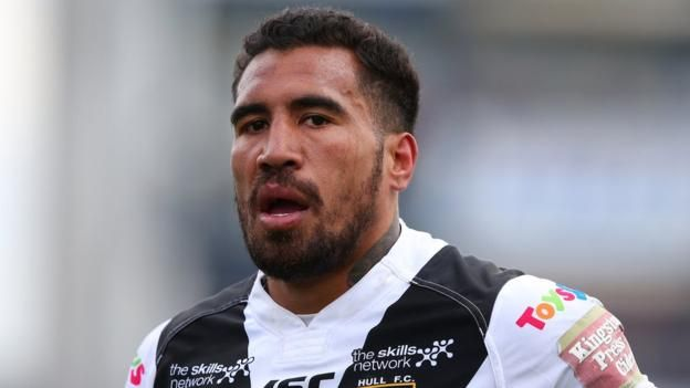 Jordan Thompson scores for Hull FC Danny Washbrook, Fetuli Talanoa and Jordan Thompson have all signed new deals at Hull FC.  Washbrook and Talanoa have signed one-year extensions with last season's Challenge Cup winners, while Thompson will stay for another two terms at the Super League...