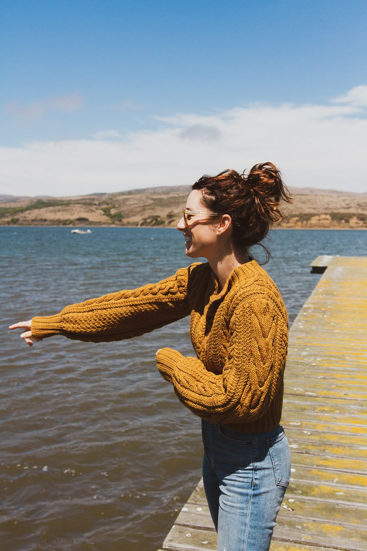 Pulled out my coziest fall knits for our California coast road trip from Point Reyes to Ojai… sharing the route and what to pack on the blog.