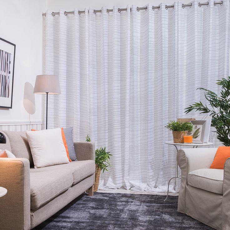 Best 25 cortinas confeccionadas ideas on pinterest for Cortinas visillo modernas