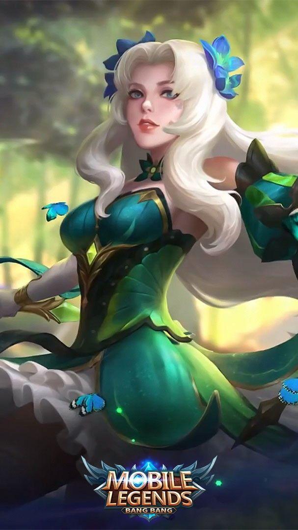 Odette Butterfly Goddess Moba Mobilelegends Mobilelegendsbuild Mobilelegends Mobile Legend Wallpaper Miya Mobile Legends Mobile Legends