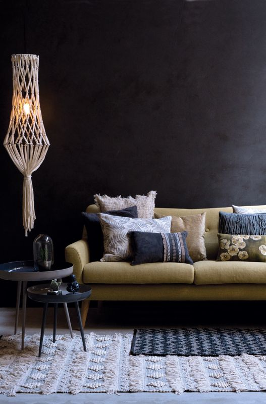 A.U Maison AW16. #aumaison #interior #homedecor #styling #danishdesign #livingroom #cushions #rug