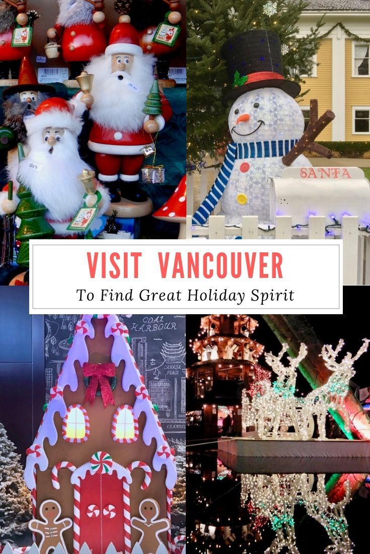 We Found Christmas Holiday Spirit In Vancouver Retired And Travelling Holiday Vancouver Christmas Market Christmas Holidays