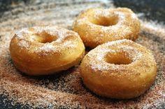 Пончики творожные во фритюре