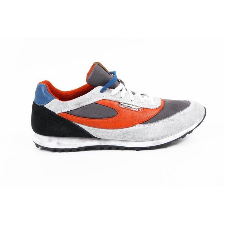 Multi Color 42 EUR - 9 US Diesel mens sneakers SHARKEROZ Y01110 PR633 H5574  #Diesel