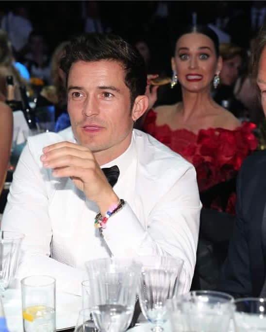 Katy Perry Orlando Bloom  Cannes amfAR 2016