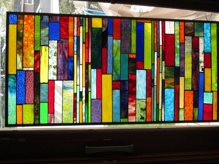 Stained Glass panel window. DIVERSITY Custom ordered. $765.00, via Etsy.