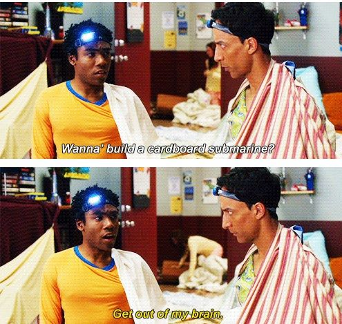 Community. Troy and Abed are one of my all-time favorite TV duos.