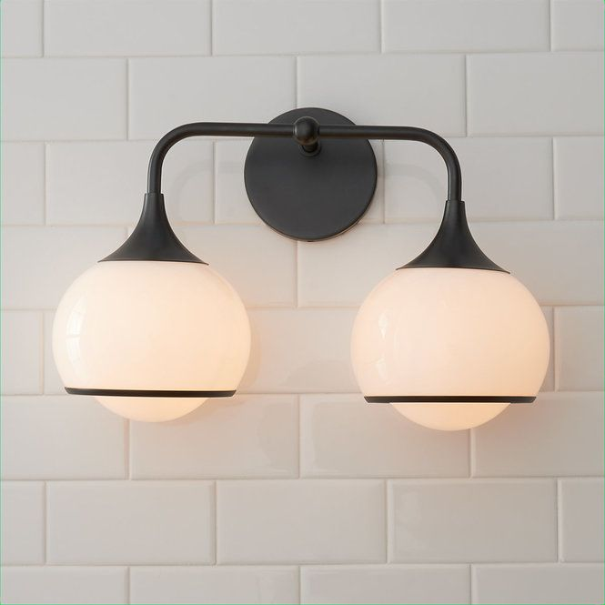 Diner Drop Vanity Light 2 Light In 2020 Vanity Lighting