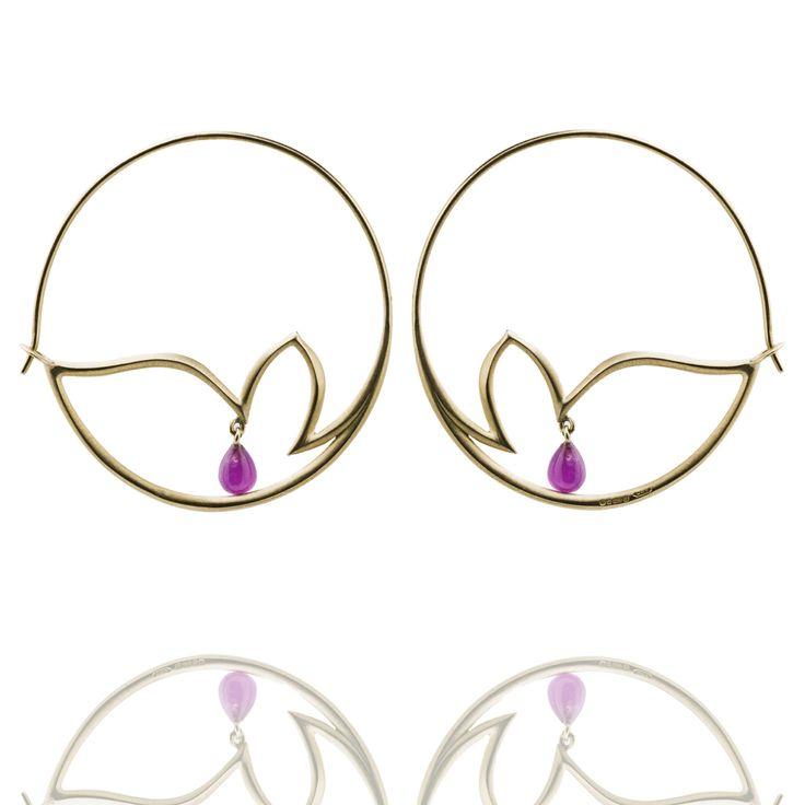 Chattri Hoop Earrings
