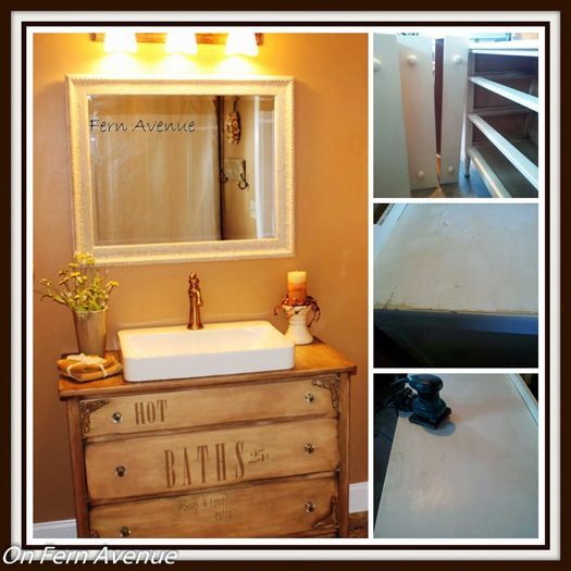 A Guide To Turning A Dresser Into A Vanity Small Bathroom