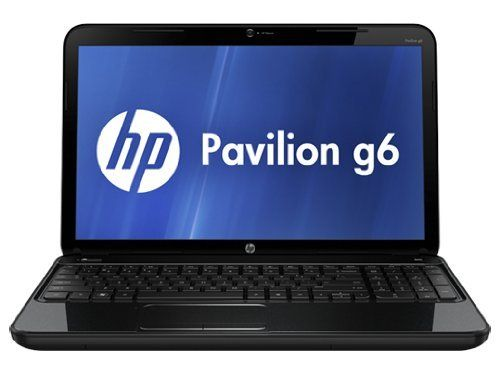HP Pavilion g6-2210us 15.6-Inch Laptop (Black) by HP. $452.88. Amazon.com                Store more files with the large hard drive on the HP Pavilion g6-2210us Notebook PC. Plus, manage everyday tasks with the right speed and graphics. Count on the HP TrueVision HD Webcam when only a face-to-face conversation will do. Make a stylish statement with the HP Imprint finish in sparkling black. Also, get automatic air conditioning for your HP Pavilion g6 laptop and protect data...