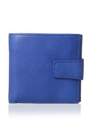 54% OFF Tusk Women's L-Shaped Indexer Wallet, Cobalt Blue