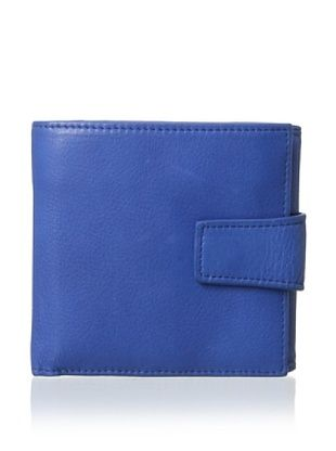 54% OFF Tusk Women's L-Shaped Indexer Wallet, Cobalt Blue