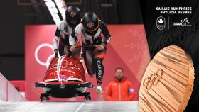 Kaillie Humphries has won her third straight Olympic bobsleigh medal, this time taking bronze with Phylicia George in PyeongChang. Humphries...