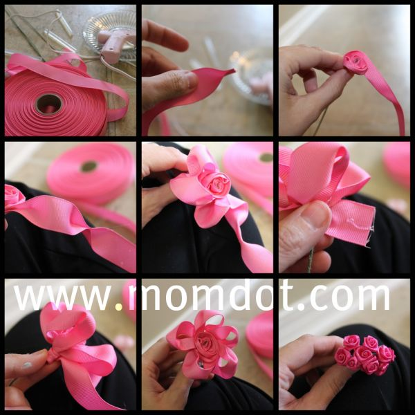 How to make a Ribbon Rosette (tutorial) - Influential Mom Blogger, Brand Ambassador, PR Friendly