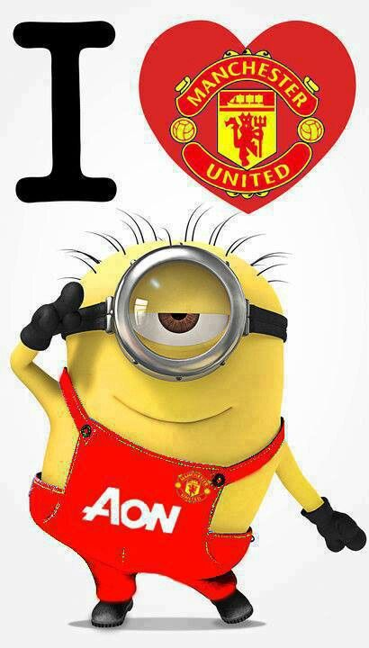 the newest man united player the famous minion