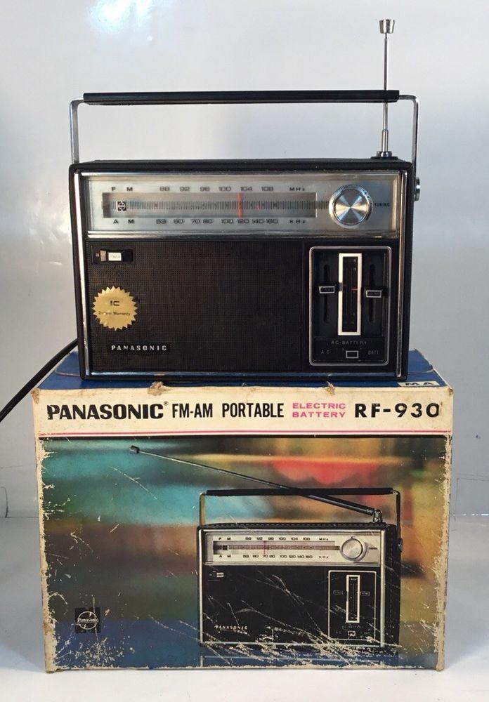 Vintage panasonic electronics join