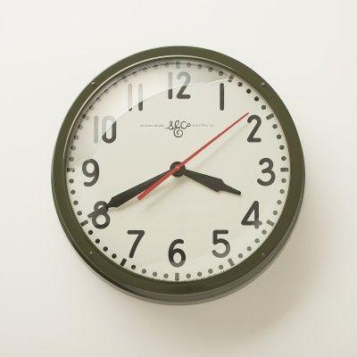 Schoolhouse Electric 17.5 in. Clock